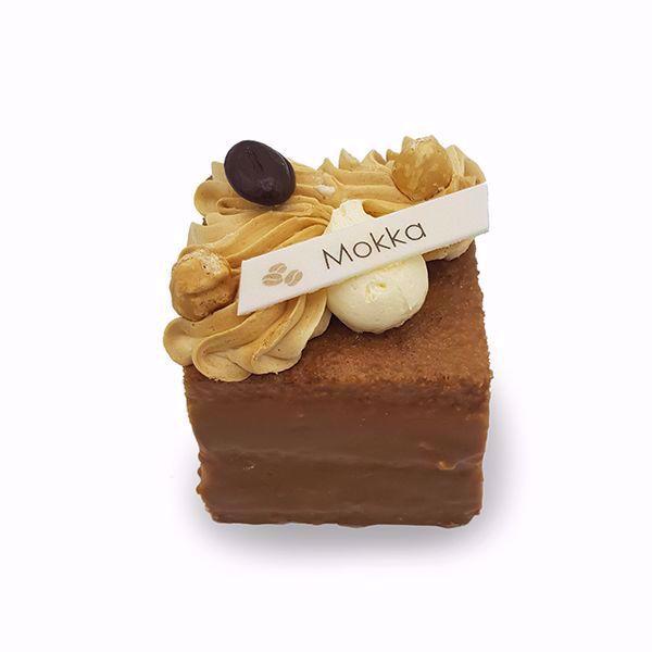 Afbeelding van Mokkacrème cake gebak